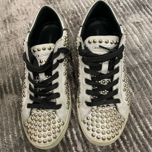 Crime London Studded Sneakers